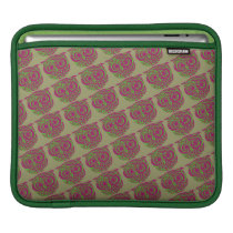 owls diagonal pattern sleeve for iPads