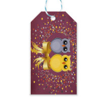 Owls, Dots, Bow Gift Tags