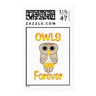 Owls Forever Postage
