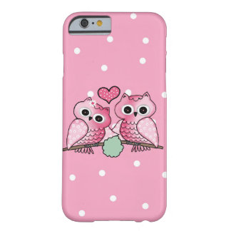 owls funda para iPhone 6 barely there