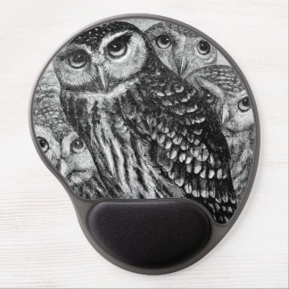Owls Gel Mouse Pad