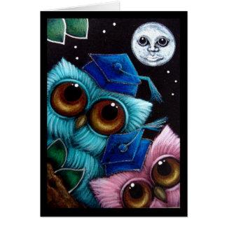 Owls - Graduation Day Card