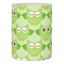 Owls - Green (7).jpg Flameless Candle