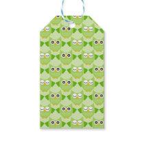 Owls - Green (7).jpg Gift Tags