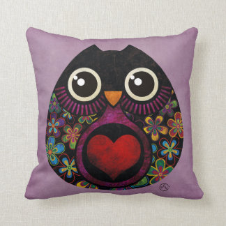 Owl's Hatch American MoJo Pillow