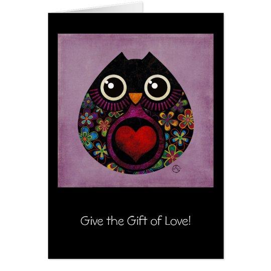 owl's hatch card