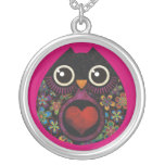 Owl's Hatch Sterling Silver Necklace