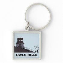OWLS HEAD LIGHT KEYCHAIN