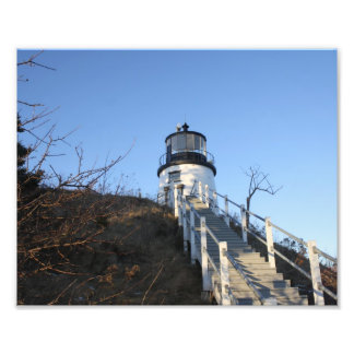 Owl's Head Lighthouse 2 Photo Print