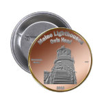 Owls Head Lighthouse Coin/Token Pin