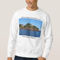 Owls Head Lighthouse, Maine Sweatshirt