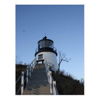 Owl's Head Lighthouse Postcard
