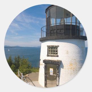 Owls Head, Maine Classic Round Sticker