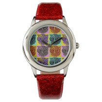 owls hour wrist watch