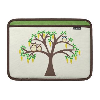 Owls in a Flowery Laburnum Tree Mac Book Sleeve Sleeve For MacBook Air