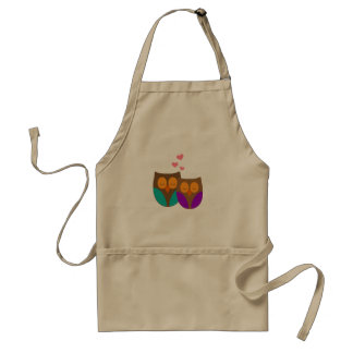 Owls in a Nest Adult Apron