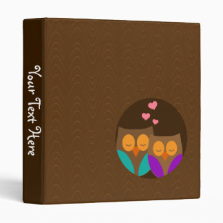 Owls in a Nest Binder