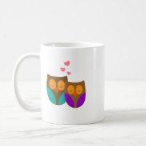 Owls in a Nest Coffee Mug