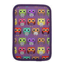 Owls in a row sleeve for iPad mini