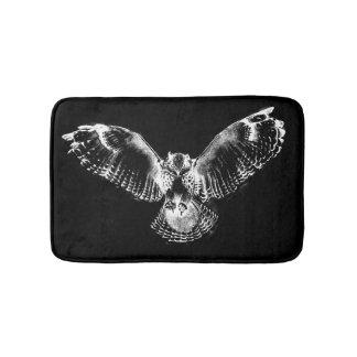 Owls in Flight Bath Mat (sm)