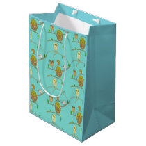 Owls in Forest gift bag