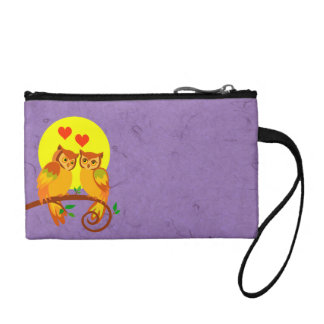 Owls in love 2 coin wallet