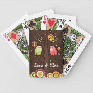 Owls in Love Custom Card Deck