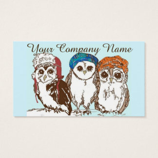 Owls in the Hood Business Card