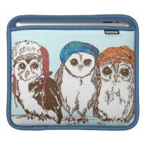 Owls in the Hood iPad Sleeve