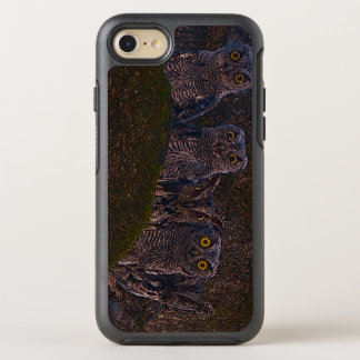 Owls in the Oak Hollow OtterBox Symmetry iPhone 8/7 Case