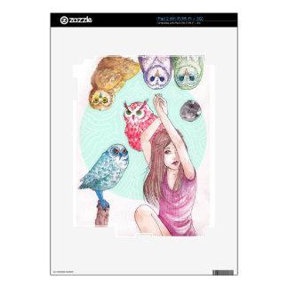 Owls iPad 2 Decal