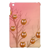 Owls iPad Mini Cover