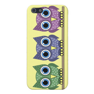 owls iPhone 5 covers