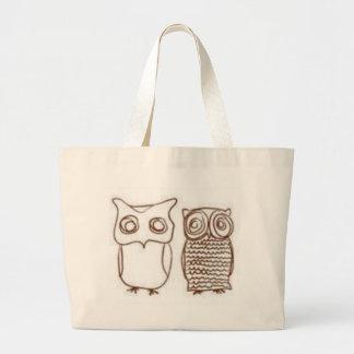 Owls Jumbo Tote Bag