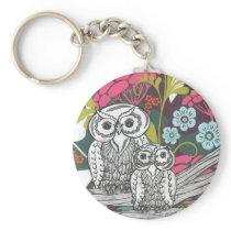 Owls keychain