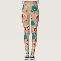 owls leggings