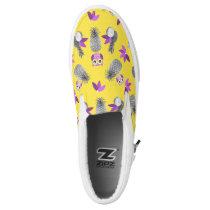 Owls likes pineapple! Slip-On sneakers