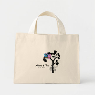 Owls - Love Bird Theme - Bridesmaid Bag