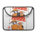Owls Love Hearts MacBook Pro Sleeves