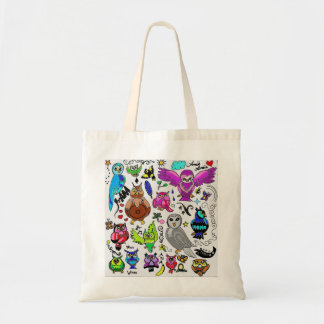 Owls *Maria Special!* Tote Bag