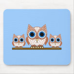 owls mouse pad