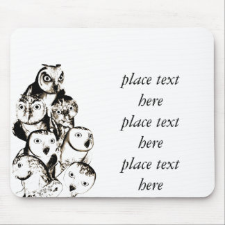 owls mousepad