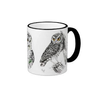 Owls Mug in ink