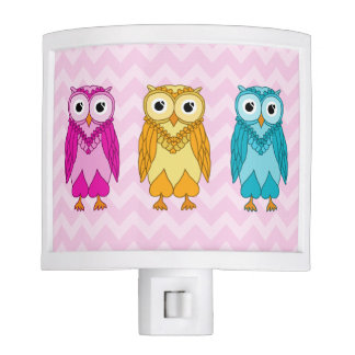 Owl Night Lights Zazzle