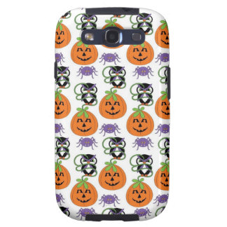 Owls on Pumpkins with Spider.jpg Galaxy S3 Covers