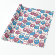 Owls, Owls, and More Owls! Wrapping Paper