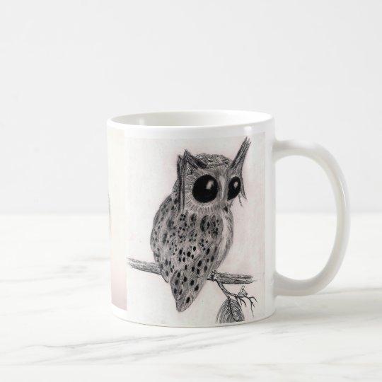 Owls, Owls, Owls!! - Woodland Cuties -Classic Whit Coffee Mug