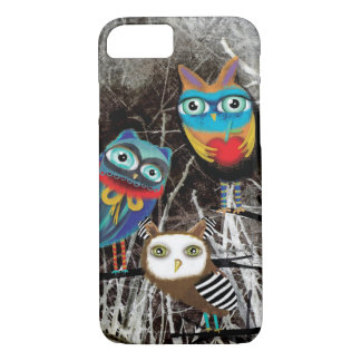Owls Owly Owl friends iPhone 7 Case