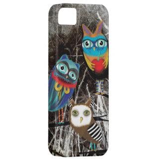 Owls Owly Owl friends iPhone SE/5/5s Case