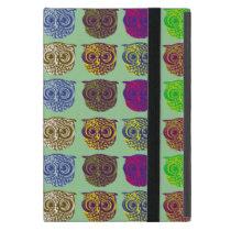 owls pattern iPad mini case